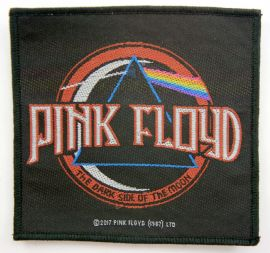 Pink Floyd - 'Logo / Dark Side of the Moon' Woven Patch
